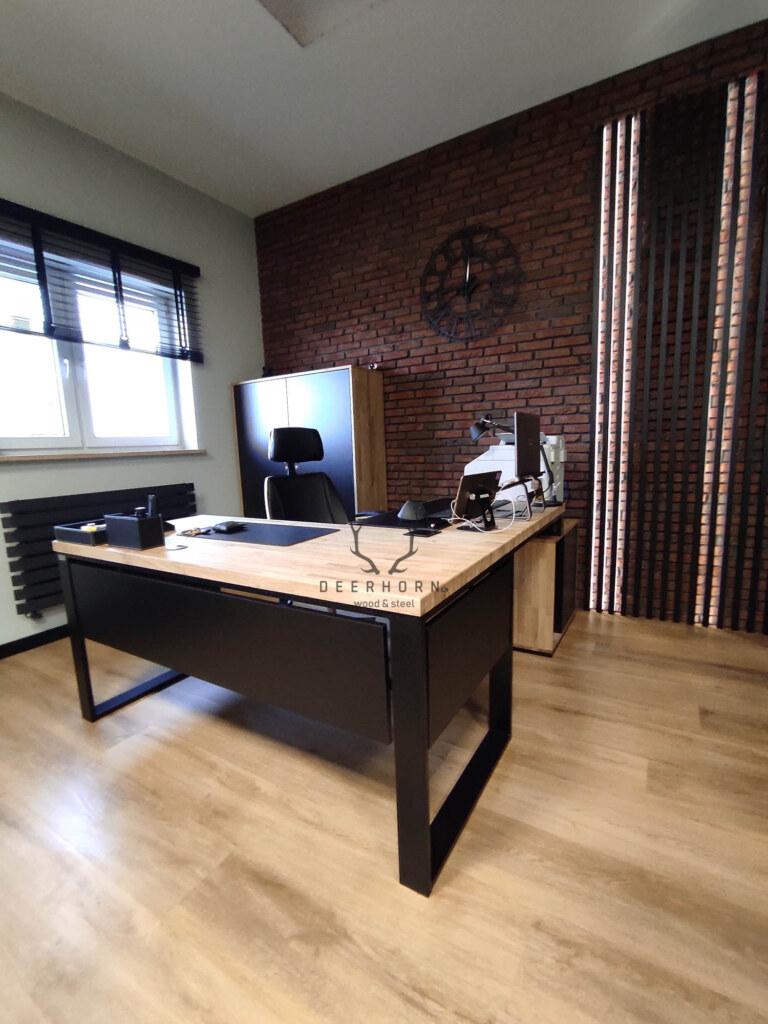 biurko narożne loft office plus