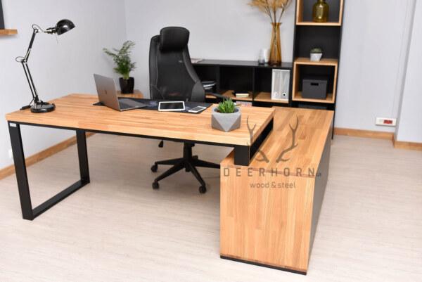biurko industrialne gabinetowe