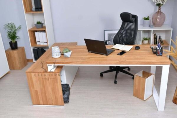 prawe biurko narożne