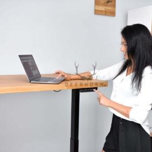 biurko regulowane loft