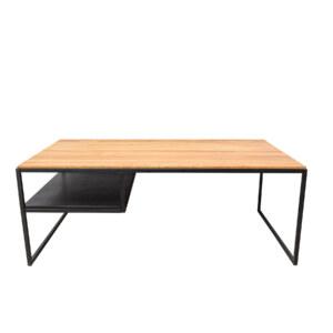 loftowy stolik kawowy