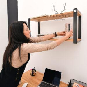półka nad biurko