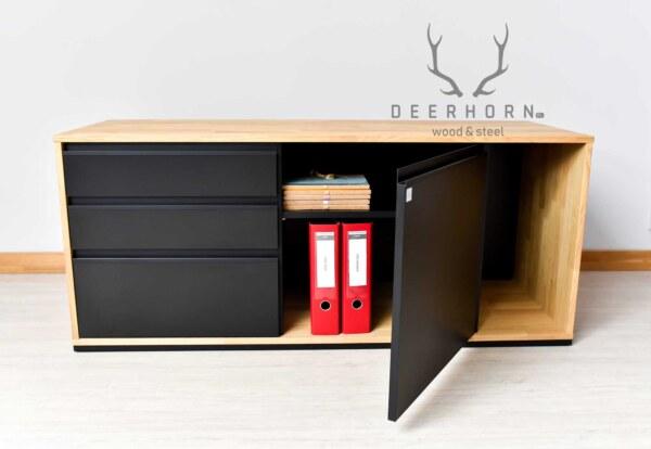 szafka loftowa z szufladami