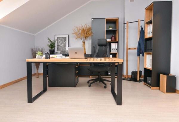 biurko narożne gabinetowe