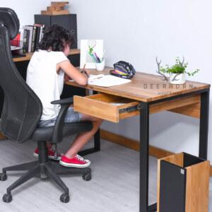biurko z szufladą loft