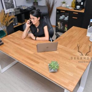 modne biurko narożne