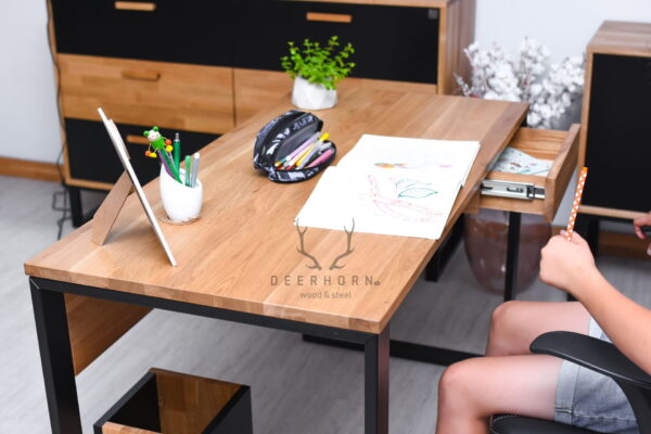 nowoczesne biurko dla ucznia
