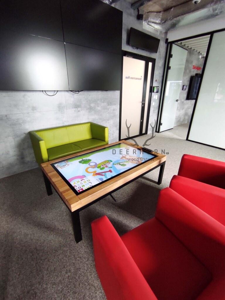 stolik kawowy do biura loft