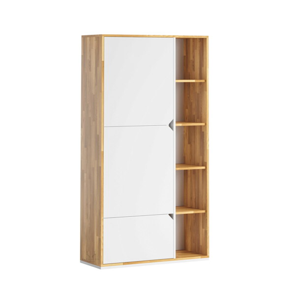 biała szafa biurowa