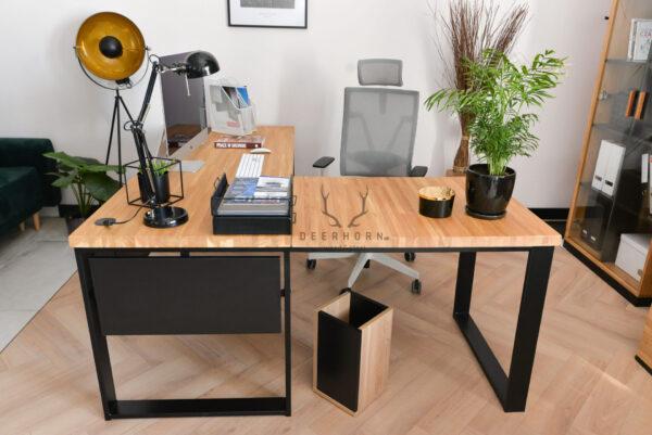 biurko narożne loft