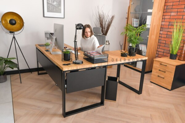 biurko narożne premium