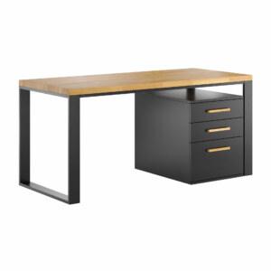 biurko loft office z szufladami