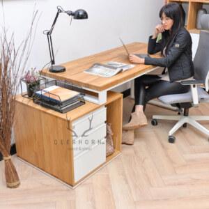 biurko loft z szufladami
