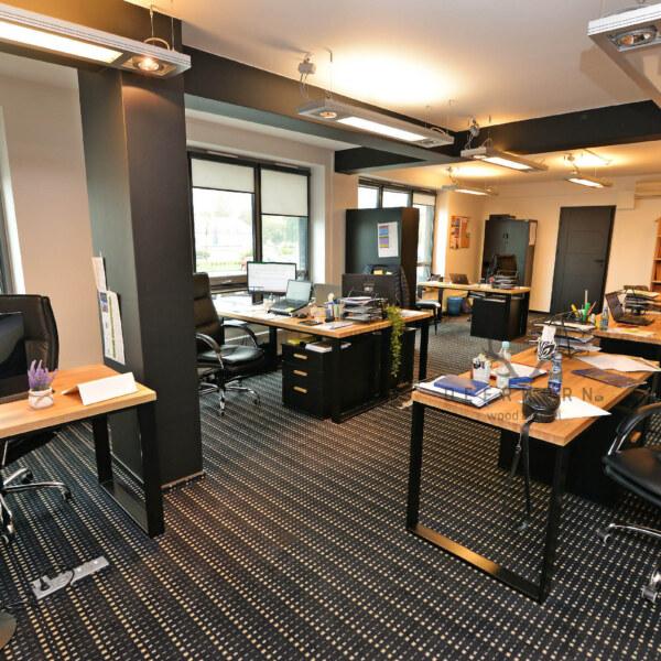 biuro wstylu loft