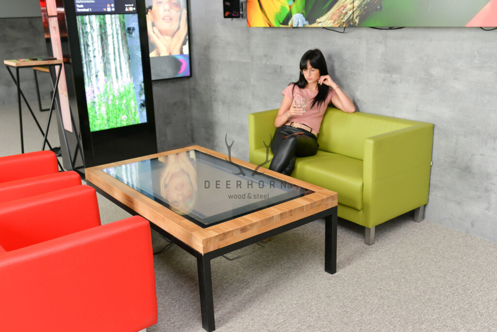 stolik kawowy loft multimedialny